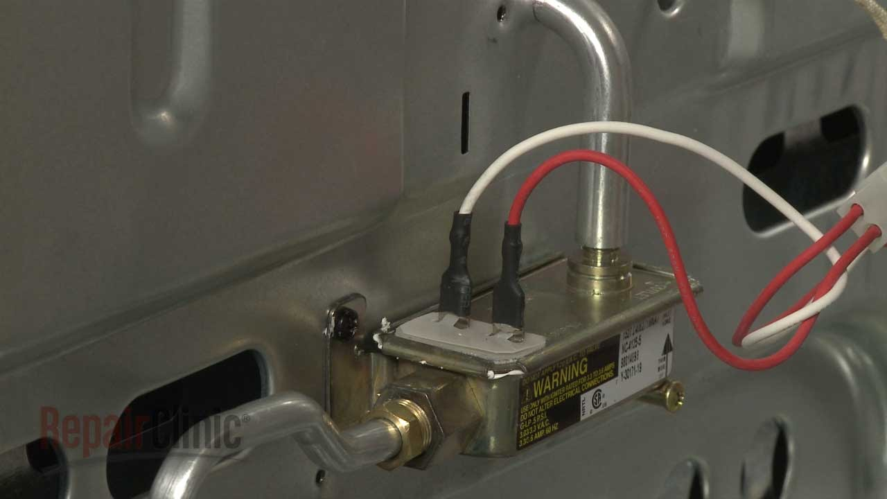 Whirlpool Gas Range Oven Safety Valve Replacement