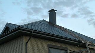 Крыша 5. Как сделать вентиляцию своими руками