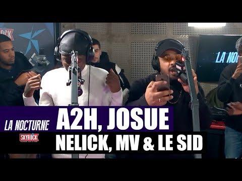Youtube: A2H, Josué, Nelick, MV & Le Sid en freestyle #LaNocturne