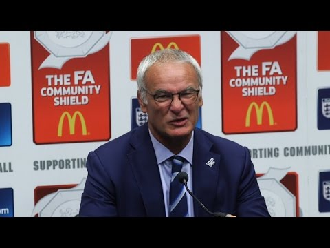 Press Conference With Claudio Ranieri Following Community Shield Loss
