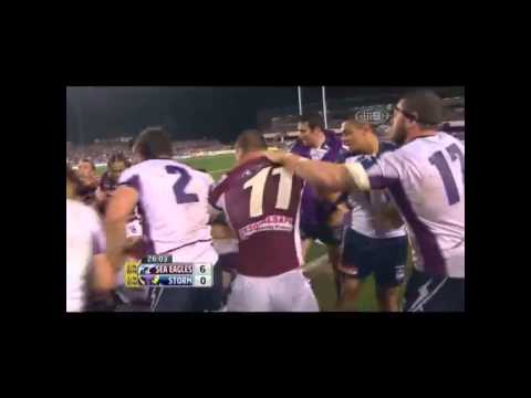 NRL and ORIGIN fights