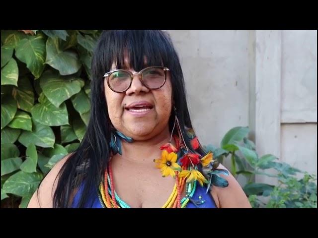 Anália Tuxa, liderança indígena