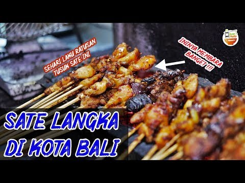 Murah Enak Halal Sate Ini Sudah Puluhan Tahun Jualan Di Bali Kuliner Bali Bikinngiler