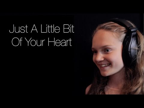 Ariana Grande - Just A Little Bit Of Your Heart - Cover by 12 year old Sapphire