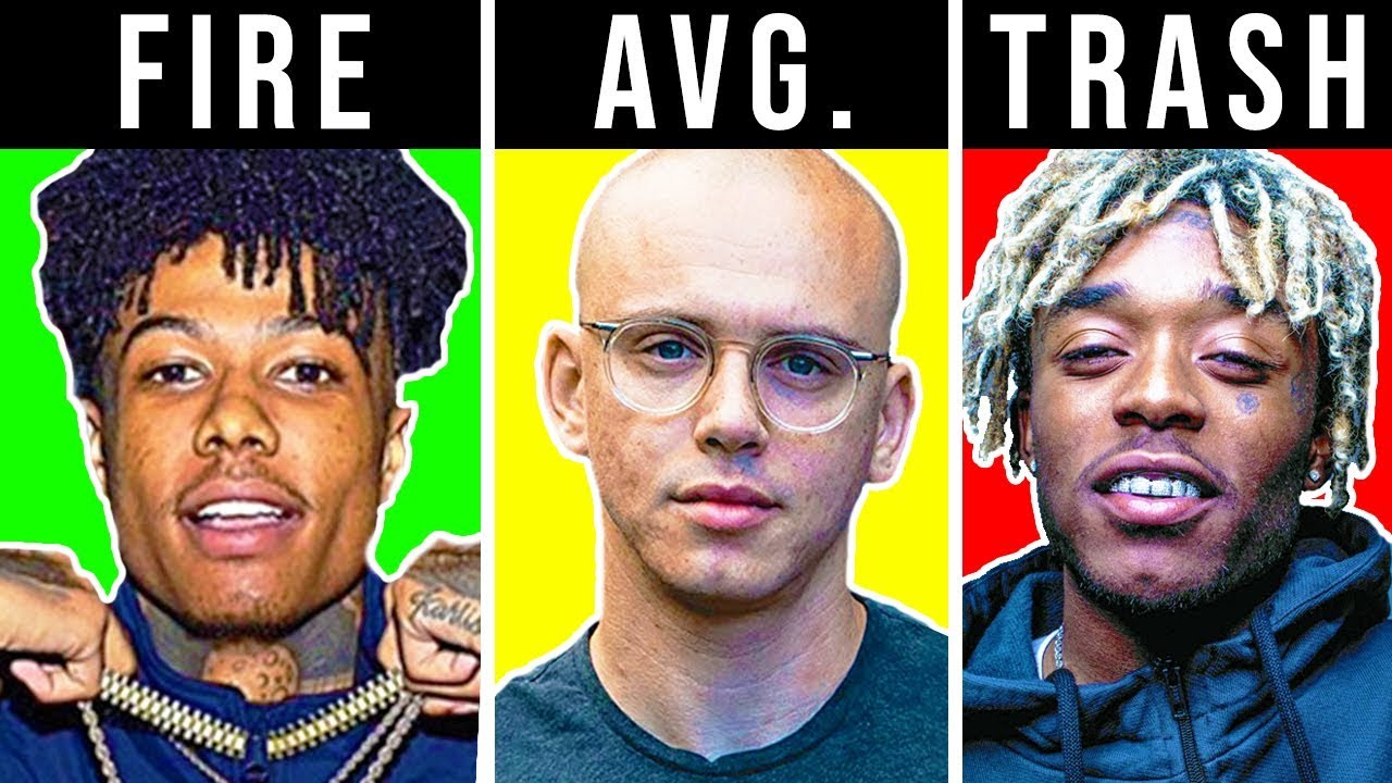 Download RANKING RAPPERS TRASH TO FIRE (BLUEFACE, 6IX9INE, LIL PUMP)