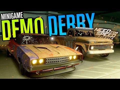 DEMOLITION DERBY LOBBY!! | Need for Speed Payback Freeroam