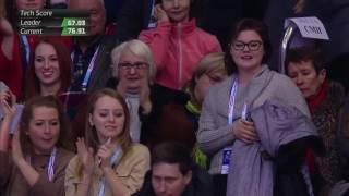 Вот Женя Медведева.  Американцы офигели ))))