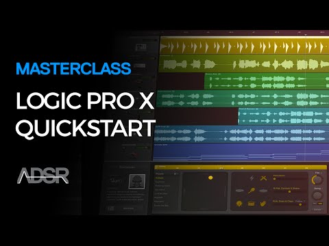 Logic X Quickstart Guide For Beginners