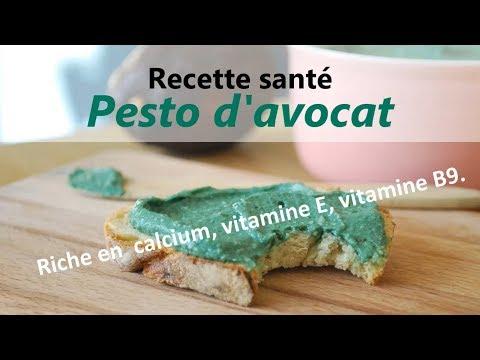 recette-végétarienne-riche-en-vitamines-:-pesto-d'avocat