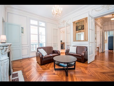(Ref: 17061) 2-Bedroom furnished apartment on Avenue de Wagram (Paris 17th)