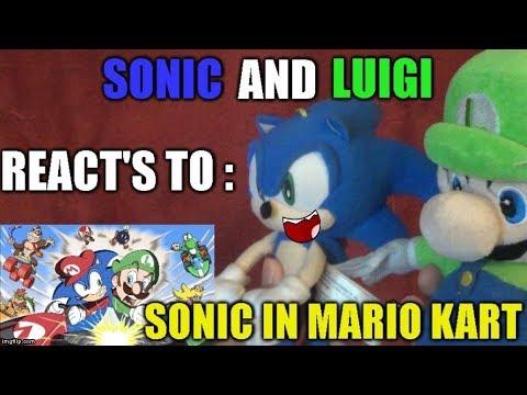 Sonic & Luigi Reacts To: Sonic In Mario Kart
