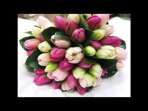 Букеты тюльпанов  15