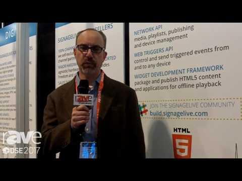 DSE 2017: Signagelive Talks About Cloud Based Software for Digital Signage Content Management
