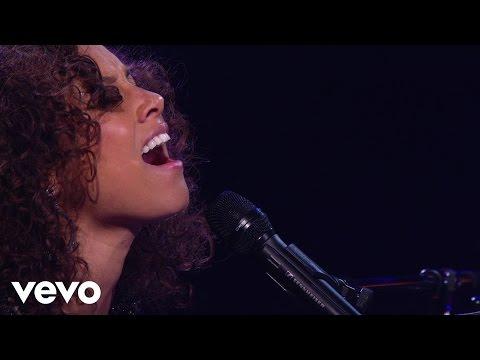 Alicia Keys - Never Felt This Way (Piano & I: AOL Sessions +1)