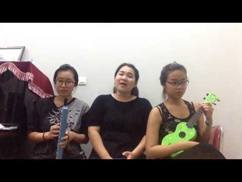 SAHABAT JADI CINTA - PIANIKA UKULELE COVER WITH RENSI AND FELICIA Tribute To Mike Mohede