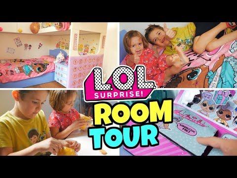LOL SURPRISE ROOM TOUR: Trasformiamo la Cameretta dei Bambini