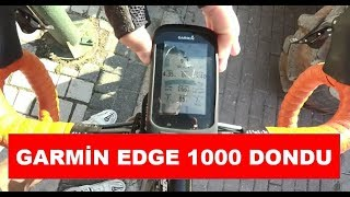 Garmin Edge 1000 Dondu - Garmin Edge 1000 Freezing Problem