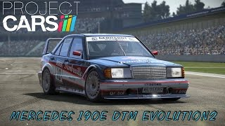 Project CARS | Brno with Mercedes 190E (1080p)