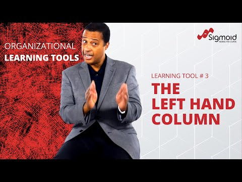 Organizational Learning Tool: The Left Hand Column