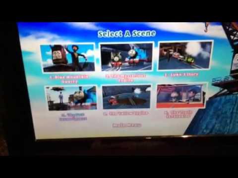 Thomas & Friends Blue Mountain Mystery DVD Menu Walkthrough