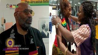 Comedian Steve Harvey Actress & AJ Johnson Visit Ghana During The Year Of Return