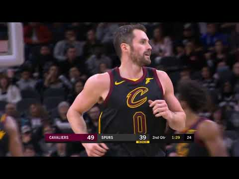 Kevin Love Full Play Vs San Antonio Spurs | 12/12/19 | Smart Highlights