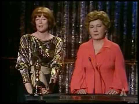 Maggie Smith and Maureen Stapleton present SciTech Awards