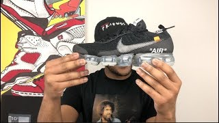 2018 Off White x Nike Vapormax In Hand Review & RELEASE DETAILS!!