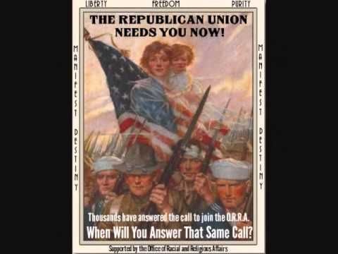 Republican Union Propaganda Posters (Alternate History)
