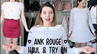 Ank Rouge Haul & Try On