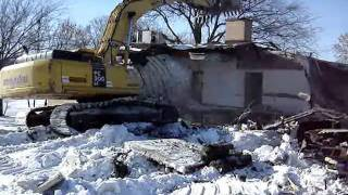 Lake Crystal Nursing Home Demolition.wmv