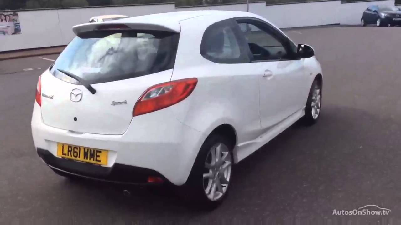 mazda 2 sport white 2011 youtube. Black Bedroom Furniture Sets. Home Design Ideas