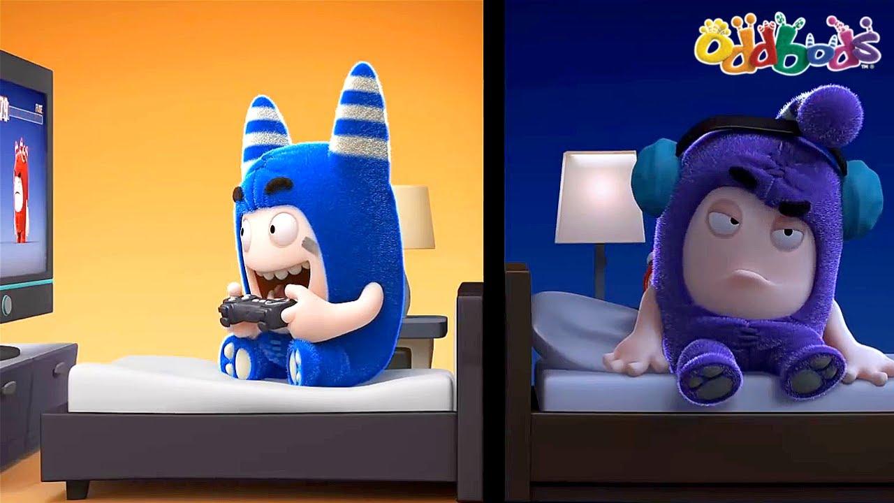 Oddbods | MỚI | Mất Giấc Ngủ | Phim Hoạt Hình Vui Nhộn Cho Trẻ Em