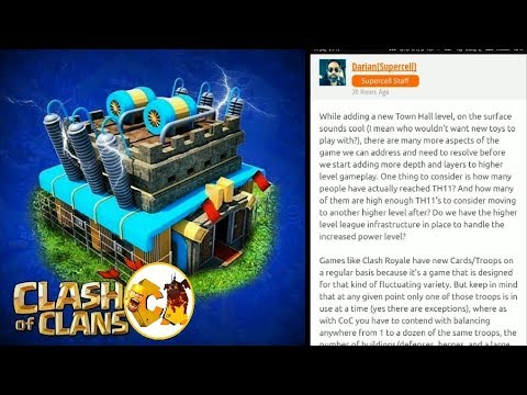 Clash of Clans | Town hall 12 is confirmed By supercell  | lets discuss some facts |in hindi