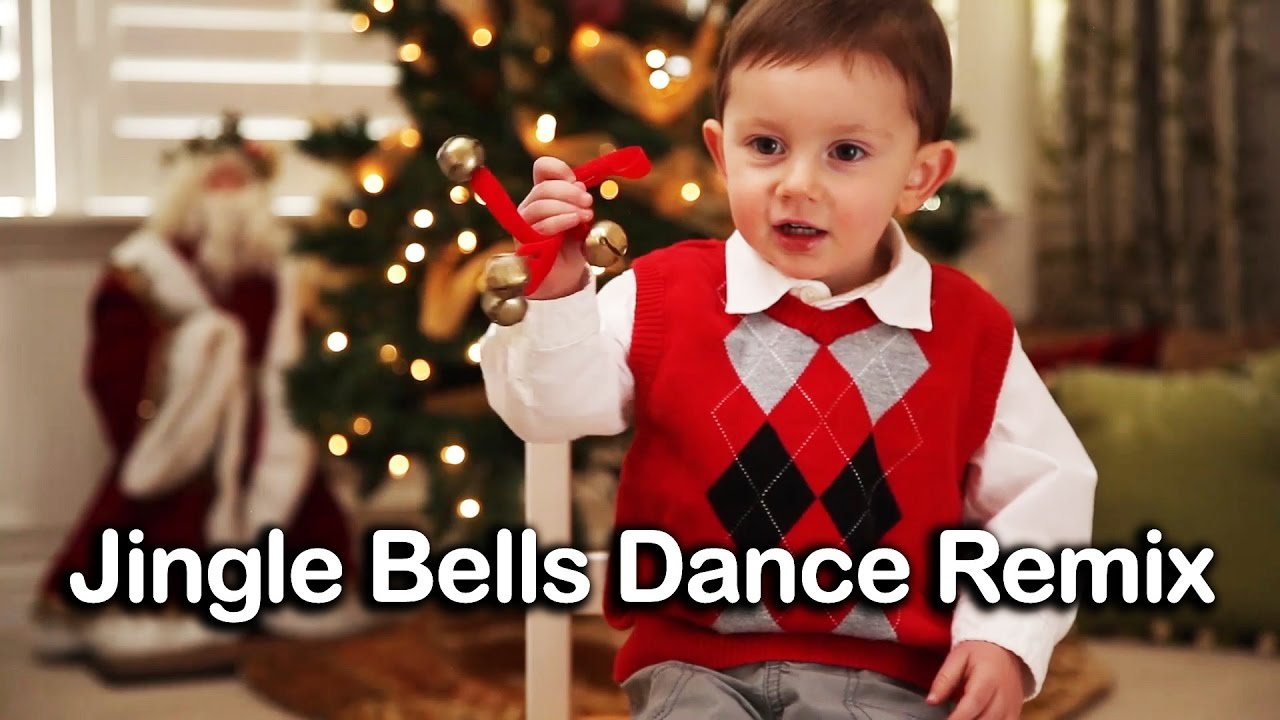 ♪ Jingle Bells Dance Remix | Christmas Songs for Kids - YouTube