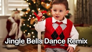 ♪ Jingle Bells Dance Remix | Christmas Songs for Kids