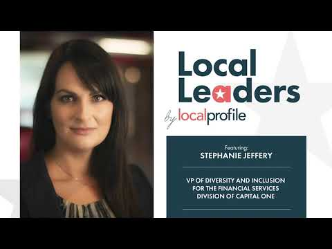 Local Profile Presents Local Leaders Featuring Stephanie Jeffery