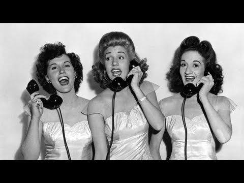 The Andrews Sisters - Shoo Shoo Baby
