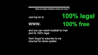 Video How to watch football online for free download MP3, 3GP, MP4, WEBM, AVI, FLV Juli 2018