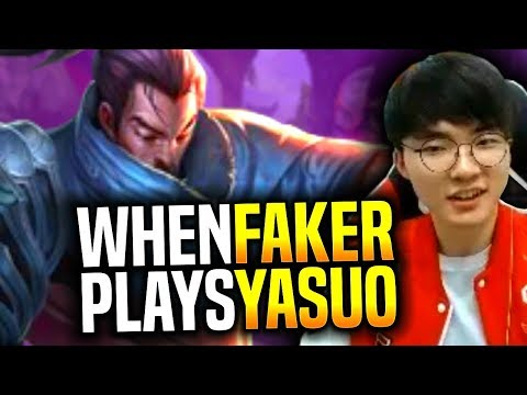 Faker is so Good With Yasuo - SKT T1 Faker Plays Yasuo vs Vladimir Mid| S9 KR SoloQ Patch 9.11