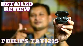 Philips TAT1215 Detailed Review amp Unboxing True Wireless Earphone Philips