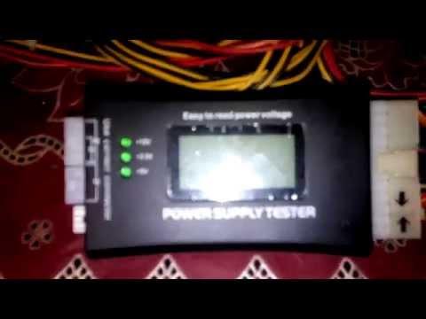 Китайский тестер блока питания компьютера - Power Supply Tester