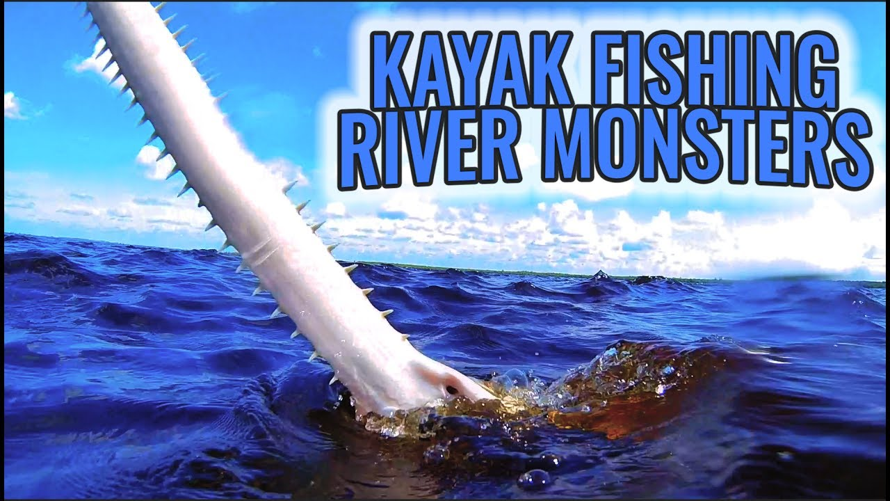 Kayak fishing caloosahatchee river monster youtube for Caloosahatchee river fishing