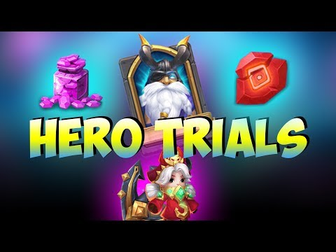 NEW: Hero Trials HARD MODE?! Great Rewards!