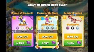 How to breed APHRODITE Dragon - Dragon Mania Legends