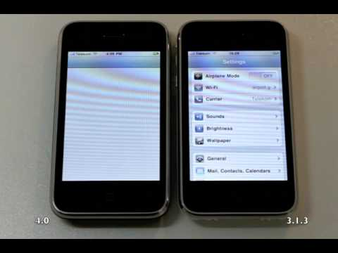 iphone camera settings ios 4 performance on iphone 3g and settings 11692