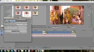 Sony Vegas Pro 13 0 Урок 7 Фильтры и эффекты