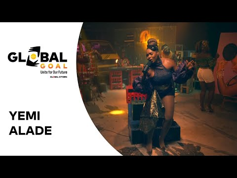 """GX GOSSIP: Watch! Yemi Alade Thrills with """"Shekere"""" for Global Citizen Concert"""