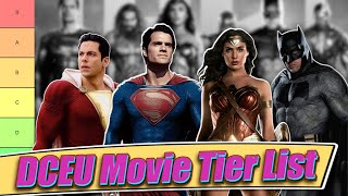 DCEU Tier List (All 10 Movies Ranked with Zack Snyder's Justice League)