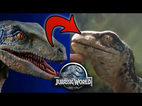 Blue de pequeña? El Flashback de Jurassic World Fallen Kingdom